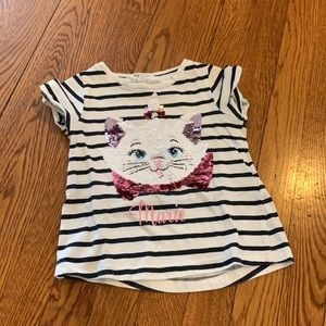 Marie tee with bling!!!! Size 3-4y